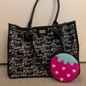 Luv Betsey tote and coin purse